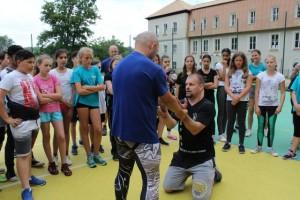 CHEB - Projekt Mazaně proti šikaně na 4.ZŠ v Chebu (1/6/2018)