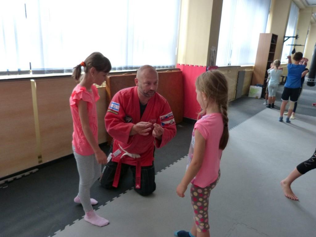 Zkoušky dětské sebeobrany (KAPAP KIDS) - Příbram (17/6/2018)