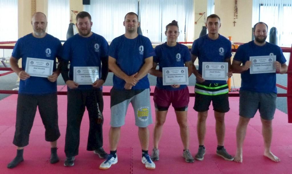 Trenéři KAPAP CZECH - certifikace 8/7/2018