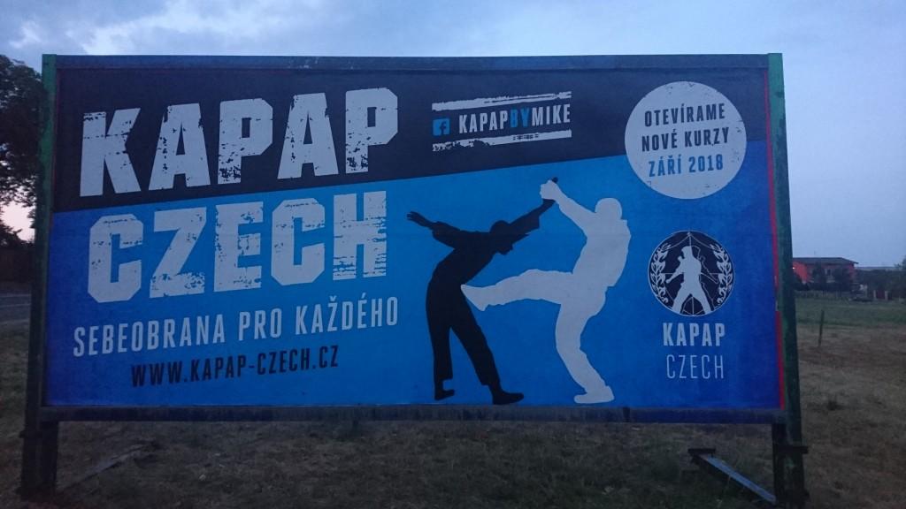 Billboard KAPAP CZECH 2018 (Dobříš)