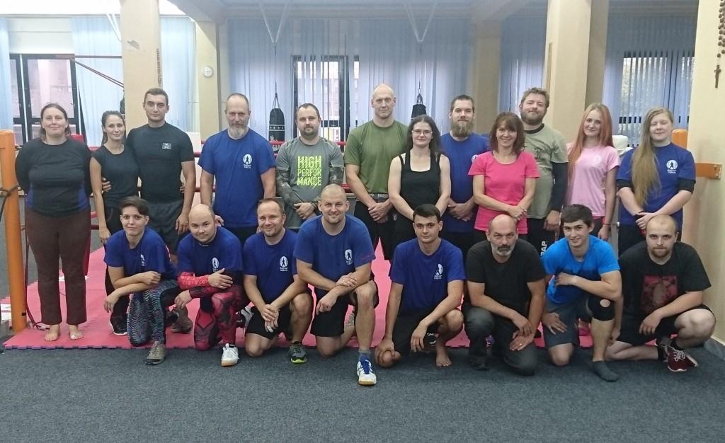 Účastníci metodického kurzu KAPAP CZECH (září 2018)