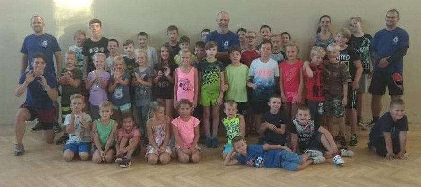 Nábor KAPAP KIDS v Klášterci nad Ohří (12/8/2018)