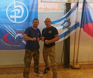 Šéf-instruktoři Jan Kubín (KMK Bohemia) a Michal Janoušek (KAPAP CZECH)