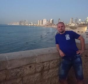 Instruktor Mike v Tel Avivu (30/10/2018)