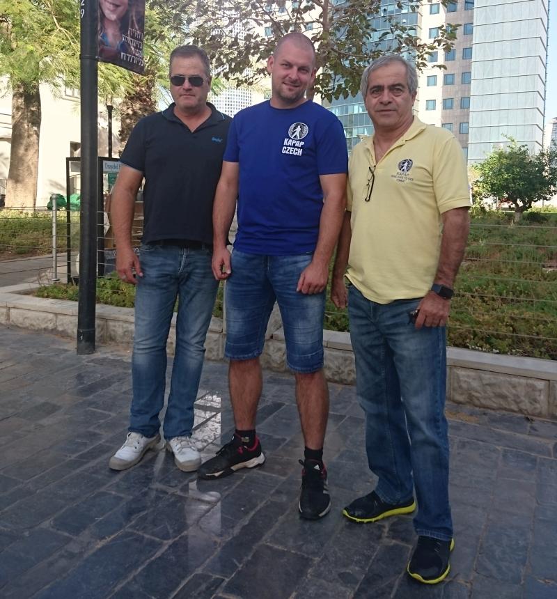 Setkání s mistry v Tel Avivu (30/10/2018)