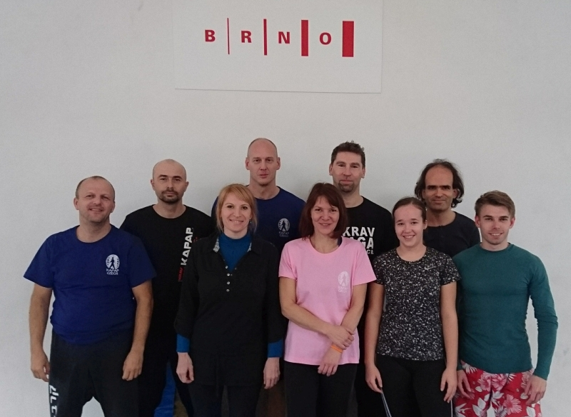 Účastníci semináře KAPAP CZECH v Brně (10/11/2018)