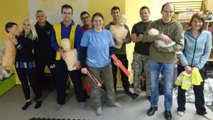 Kurz První pomoci KAPAP CZECH na Dobříši (24-25/11/2018)