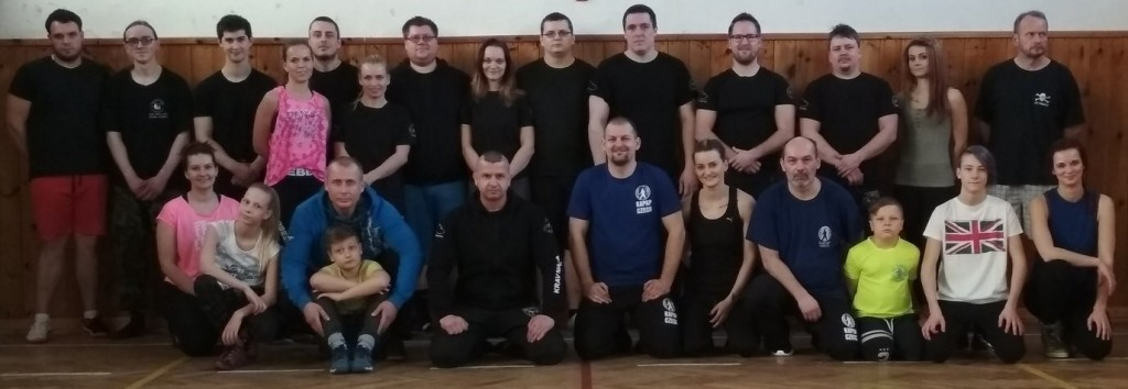 Účastnici semináře KRAV MAGA & KAPAP - Svitavy (16/2/2019)