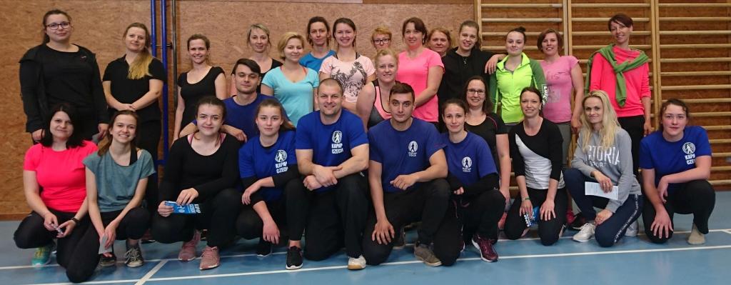 Kurz sebeobrany žen v Sedlčanech (31/3/2019)