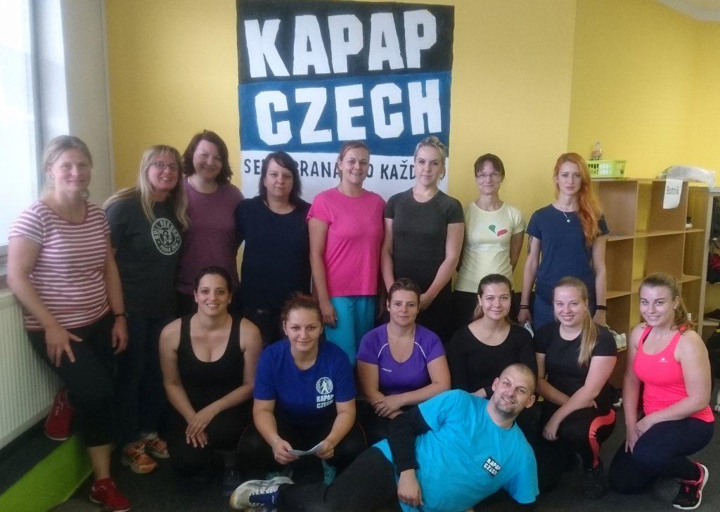 Kurz sebeobrany žen Dobříš (6/10/2019)