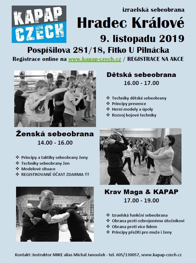 Semináře KAPAP - Hradec Králové (9/11/2019)