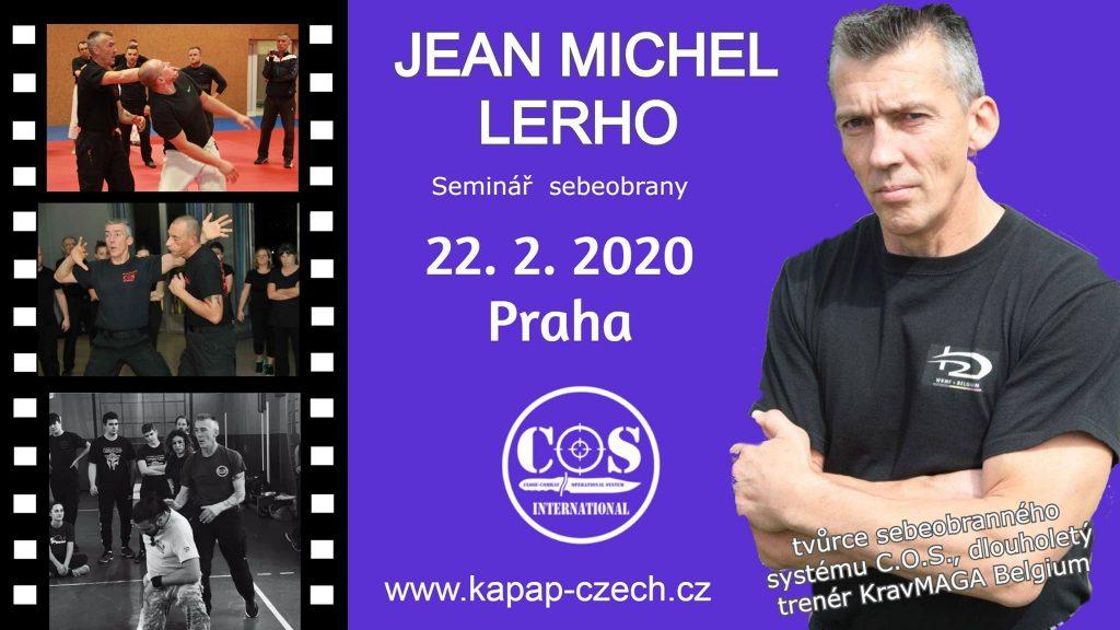 Pozvánka: Mezinárodní seminář J.M.Lerho v Praze (22/2/2020)