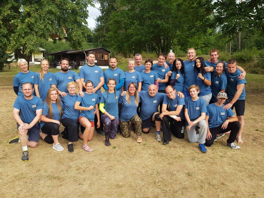 KOŽLANY: Účastníci KAPAP BASIC CAMP 2020