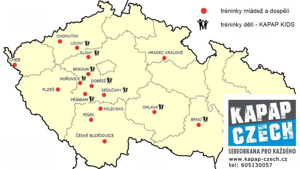 Lokality KAPAP CZECH (září 2020)