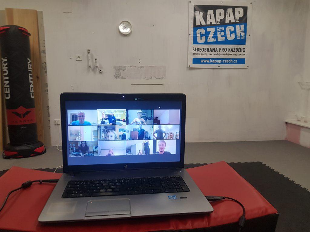 21/10/2020 - První online trénink KAPAP CZECH na platformě ZOOM