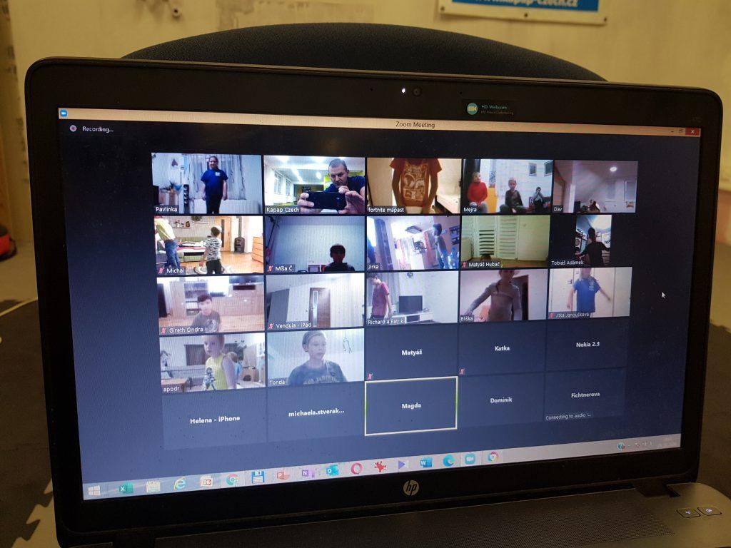Sváteční online trénink KAPAP KIDS (28/10/2020)