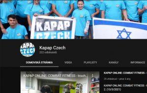 Youtube kanál KAPAP CZECH má 222 odběratelů (17/3/2021)