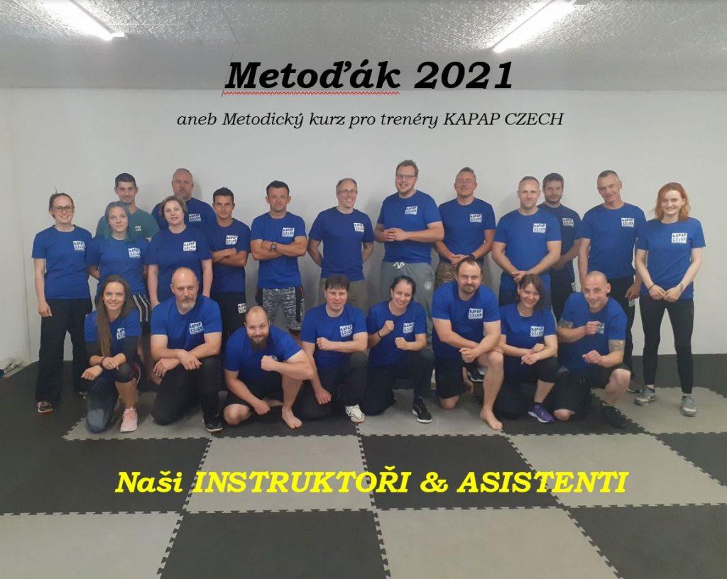 Metoďák 2021 - Instruktoři a Asistenti KAPAP CZECH