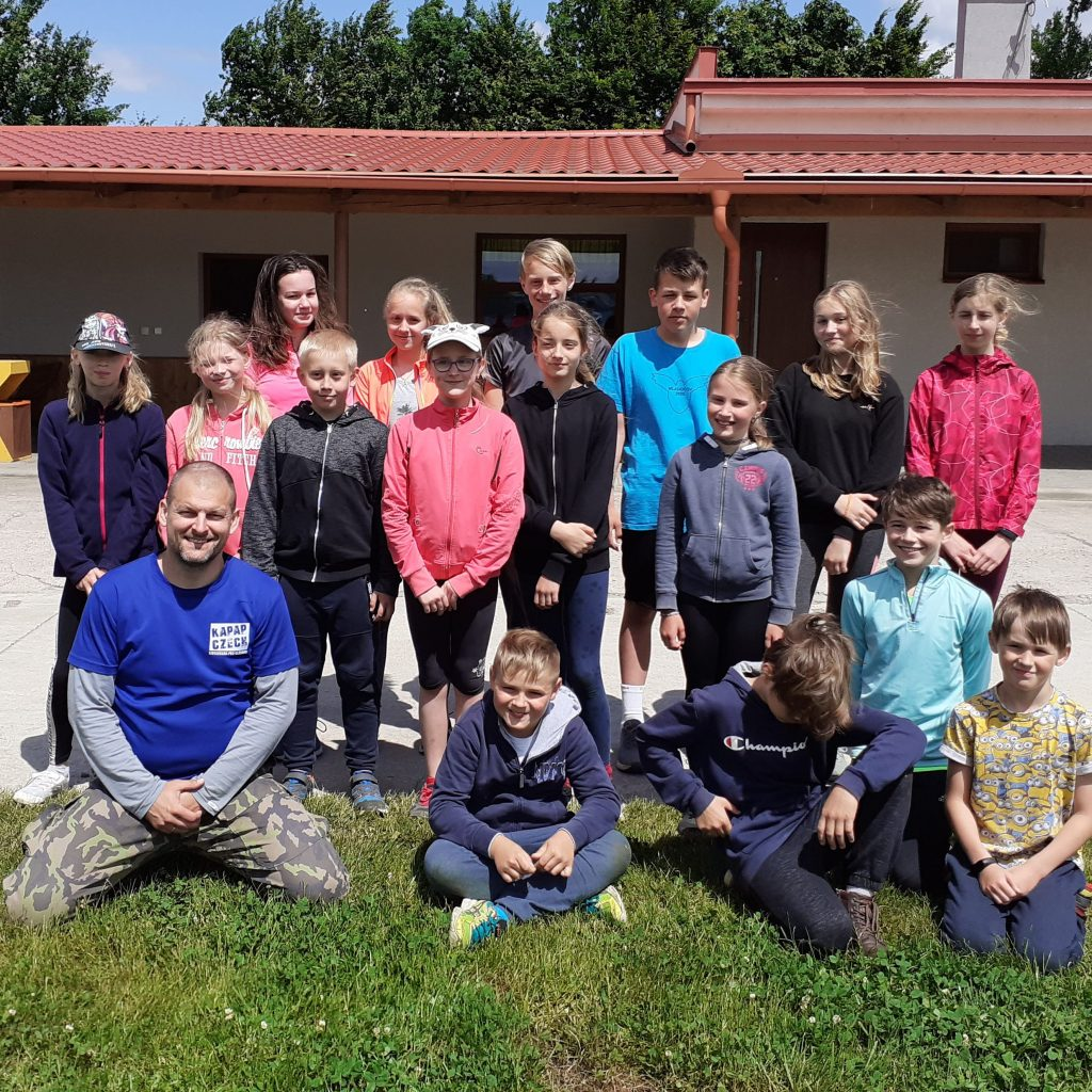 HORNÍ ŘEDICE: Kurz dětské sebeobrany KAPAP KIDS (13/6/2021)