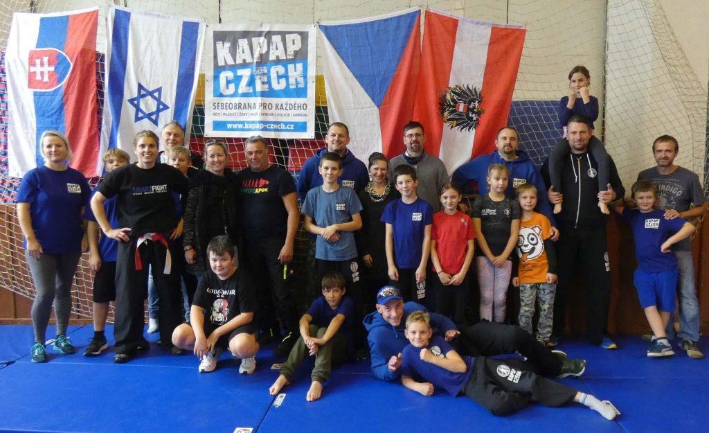 PRAHA: Účastníci nedělního dětského semináře s Avivit Cohen (17/10/2021)
